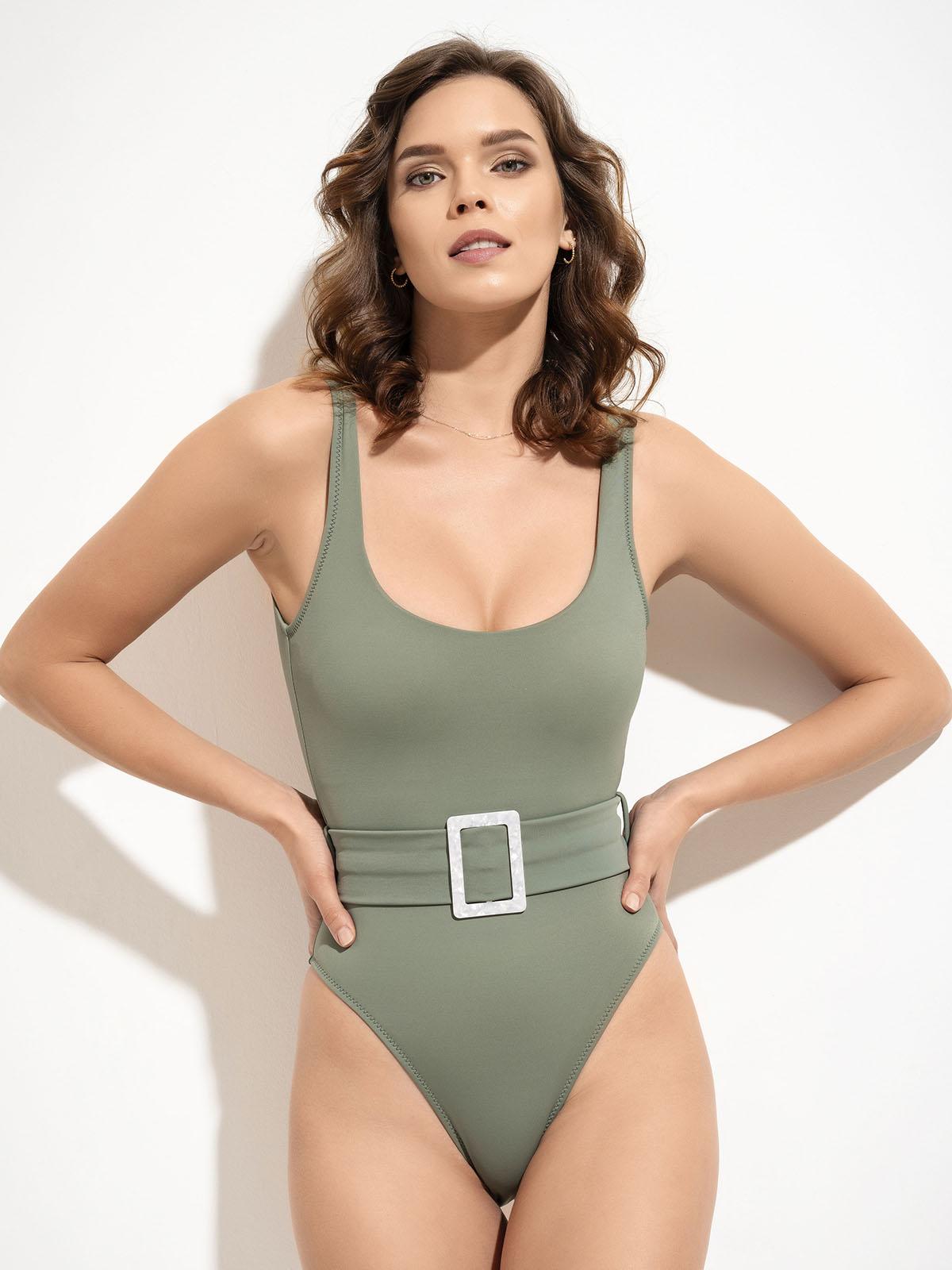 Nova-Lovekini-Green Swimsuit